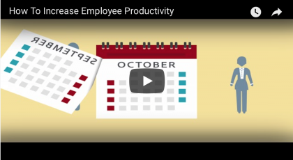 how to increase employee productivity video
