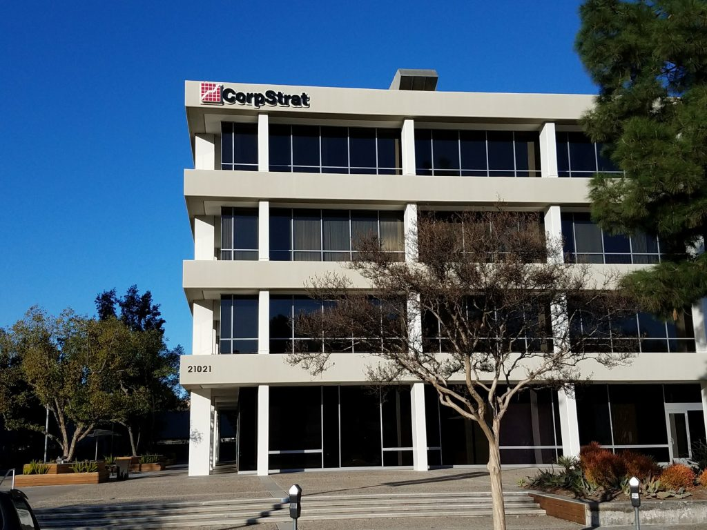 CorpStrat office building in Woodland Hills