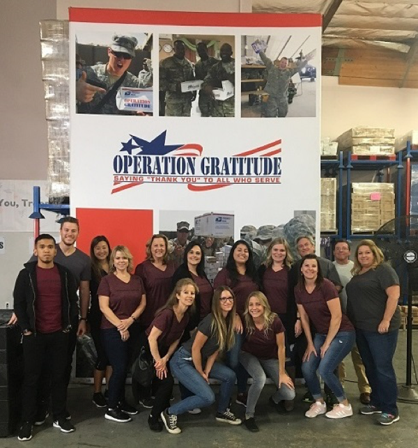 CorpStrat team builds office culture by giving back to verterans
