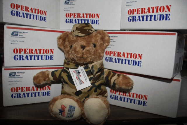 Operation Gratitude's Battalion Buddy Program 2018