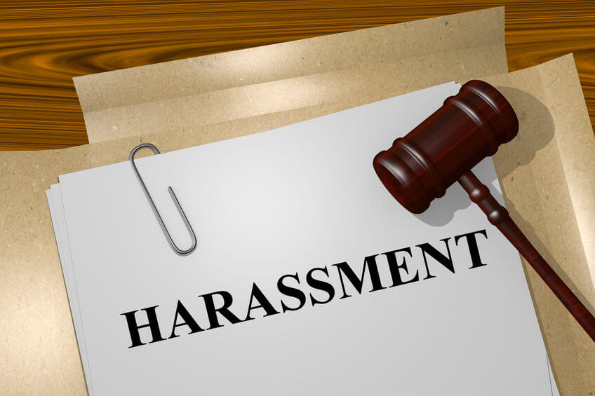 sexual harassment training report