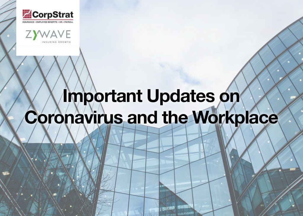 webinar coronavirus and the workplace