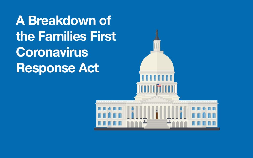 A breakdown of the families first coronavirus response act